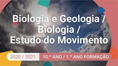 Biologia e Geologia / Biologia / Estudo do Movimento - 10.º ano