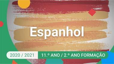 Espanhol - 11.º ano