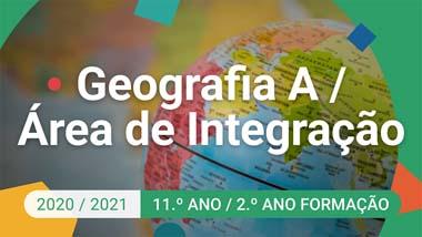 Geografia A / Área de Integração - 11.º ano