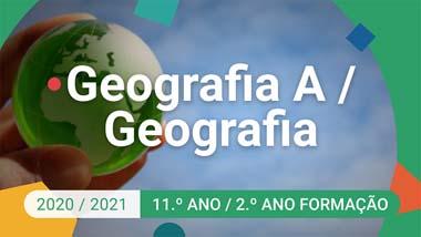 Geografia A / Geografia - 11.º ano
