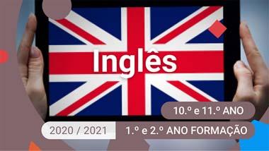Inglês - 10.º e 11.º anos