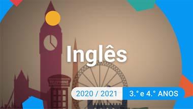 Inglês - 3.º e 4.º anos