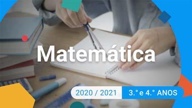 Matemática - 3.º e 4.º anos